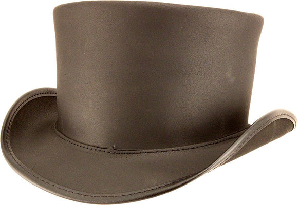 Head'n Home Hat El Dorado Top Hat - Unbanded in Finished Black