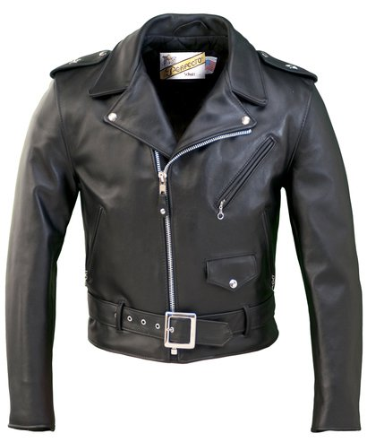 Schott One Star Perfecto Heavyweight Steerhide Motorcycle Jacket