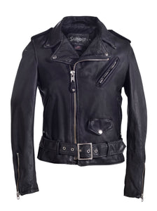 Women's Vintaged Cowhide Motorcycle Jacket