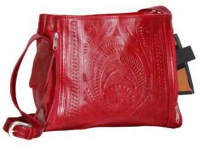 Ropin West 3 Pocket Concealed Carry Bag in Red