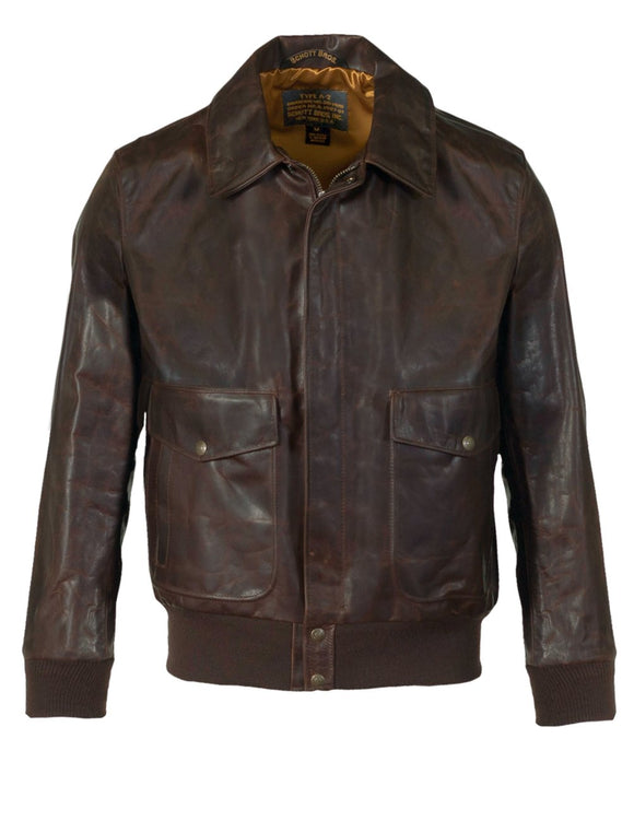 Men's Light Weight Oiled Cowhide Flight Jacket