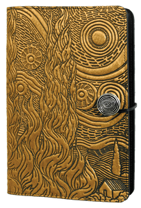 Oberon Van Gogh Sky Refillable Journal Cover in Sky Blue