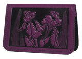 Oberon Iris Card Holder in Orchid