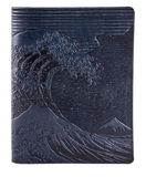 Oberon Hokusai Wave Composition Notebook Cover