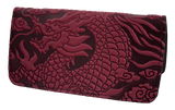 Oberon Cloud Dragon Smartphone Wallet in Wine