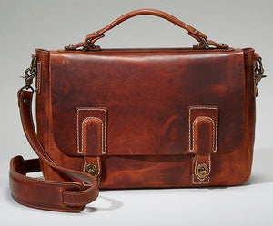 Coronado Leather Americana Messenger #201