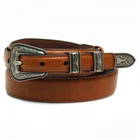 Chacon Ranger Belt in Cognac Cowhide