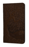 Oberon Tree of Life Checkbook Cover in Chocolate