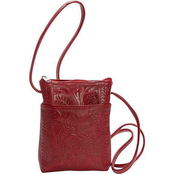 Ropin West Small Crossbody Purse in Red