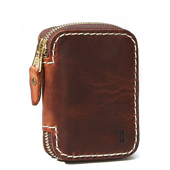 Coronado Leather Americana Zip Wallet #360
