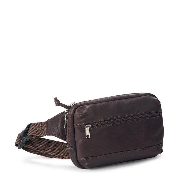 Coronado Leather Bison Stealth Pac-2 in Brown