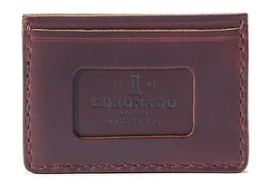 Coronado Leather CXL Horsehide Card Wallet #16 in all colors