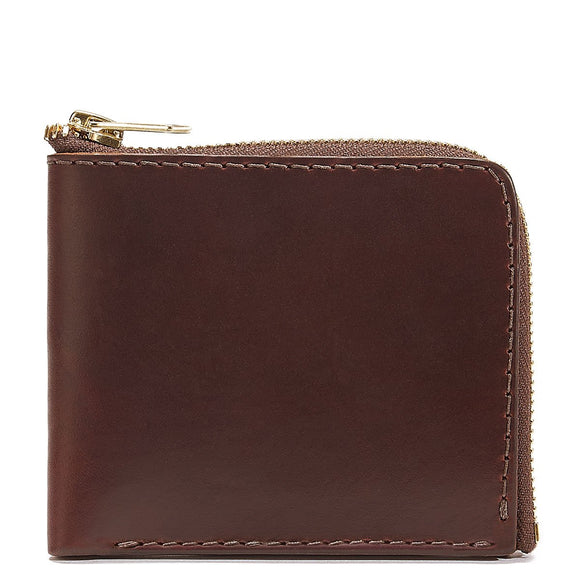 Coronado Leather CXL Horsehide Zip Wallet #15 in Brown