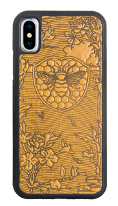 Oberon Bee Garden iPhone Case in Marigold