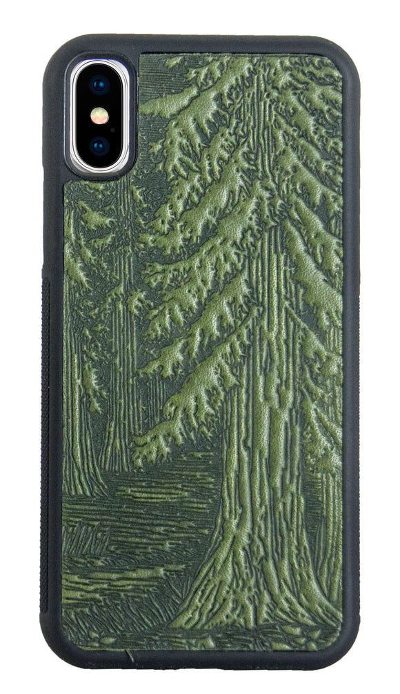 Oberon Forest iPhone Case in Fern