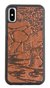 Oberon Mr. Fox iPhone Case in Saddle