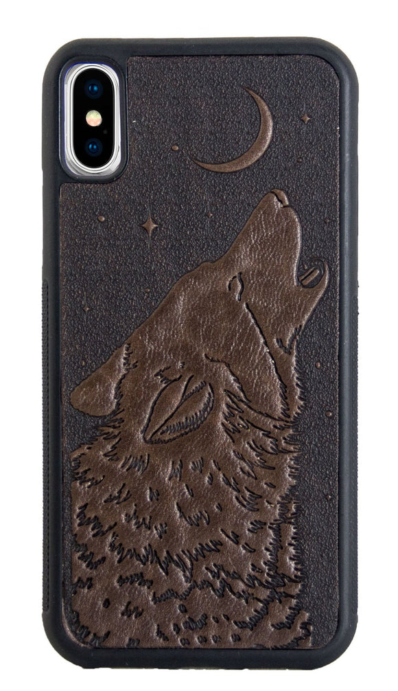 Oberon Singing Wolf iPhone Case