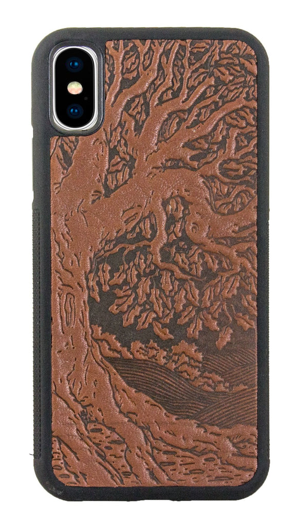Oberon Tree of Life iPhone Case in Saddle