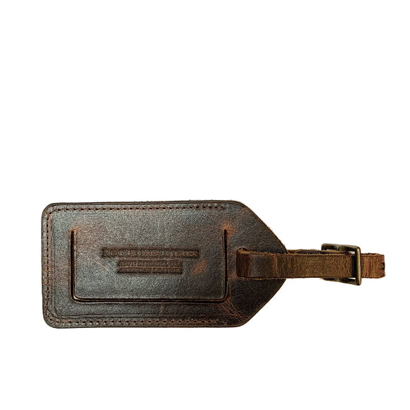 Rogue Industries Leather Luggage Tag
