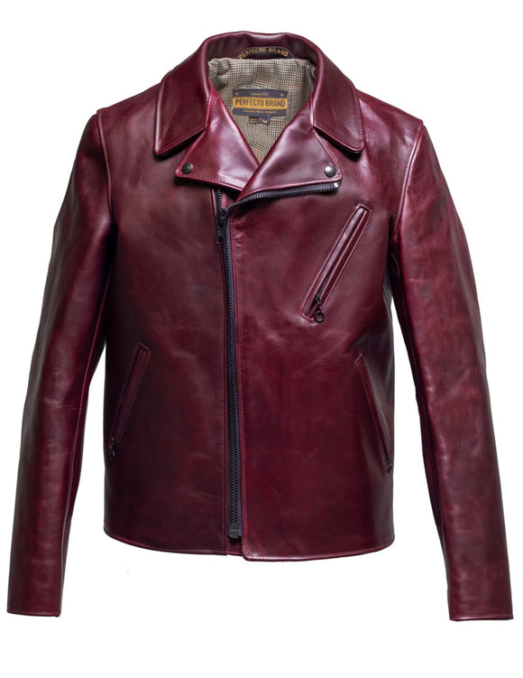 Horween Horsehide Clean Perfecto Leather Jacket