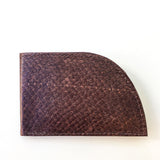 Rogue Industries Salmon Rogue Wallet in Dark Brown