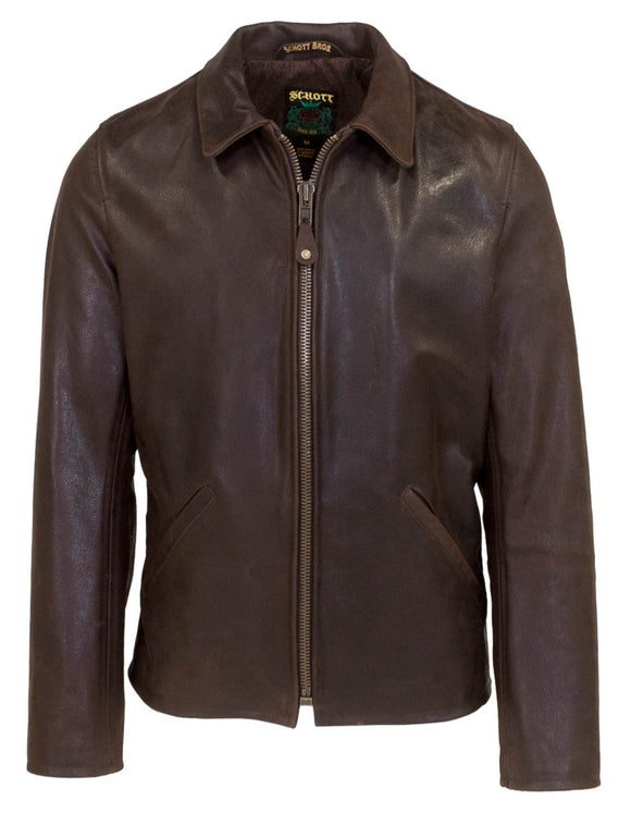 Men's Waxy Buffalo Leather Sunset Jacket