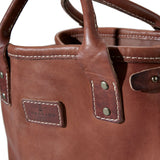 Coronado Leather Vintage Stone-Washed Tote #117