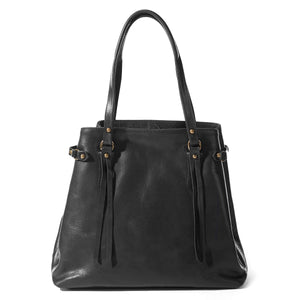 Coronado Leather Santa Fe Tote in Scarlet