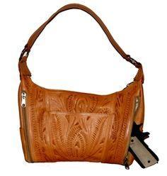 Ropin West 4 Pocket Concealed Carry Bag in Natural