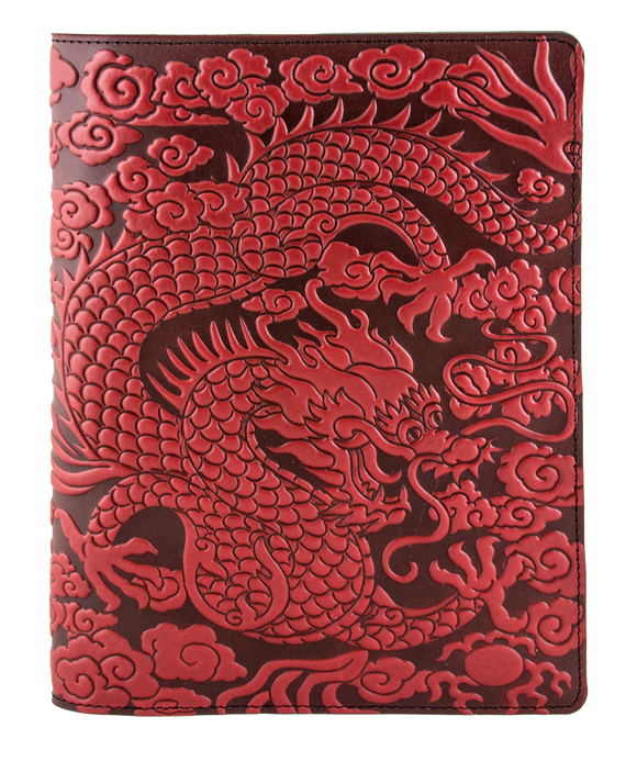 Oberon Cloud Dragon Composition Notebook Cover in Red