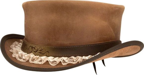 Head'n Home Hat Marlow Top Hat with Garter Band