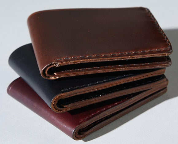 Coronado Leather CXL Horsehide Bifold Wallet #32 in all colors