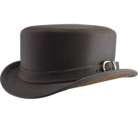 Head'n Home Hat Carriage Hatband in Brown