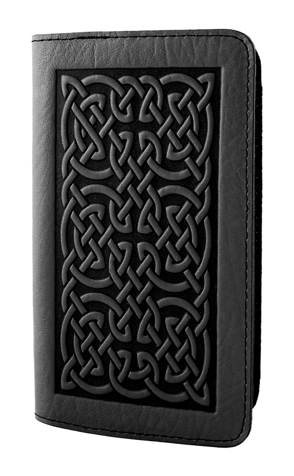 Oberon Bold Celtic Smartphone Wallet in Black
