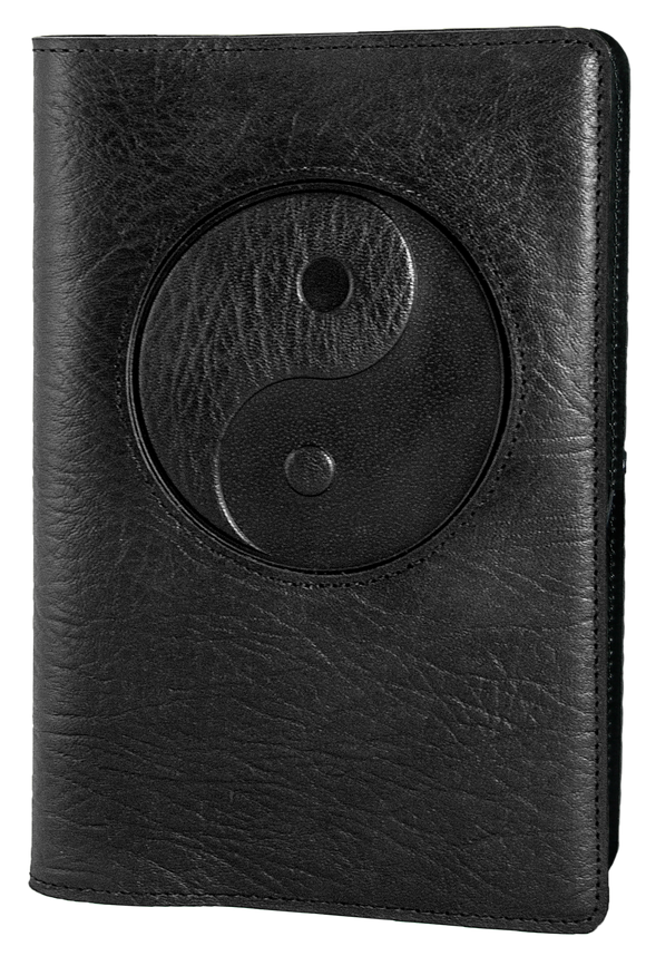 Oberon Yin Yang Icon Refillable Journal Cover