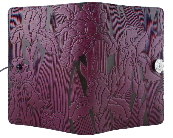 Oberon Iris Refillable Journal Cover in Orchid
