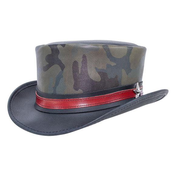Head'n Home Hat Admiral Camouflage Top Hat