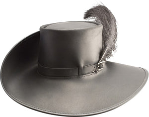 Head'n Home Hat Cavalier Hat with Musket Band in Brown