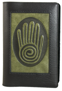 Oberon Spiral Hand Icon Refillable Journal Cover