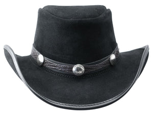 Head'n Home Hat Plainsman Cowboy Hat with Blazer Nickel Band in Mocha