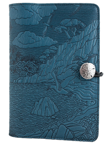 Oberon Cypress Cove Refillable Journal Cover in Sky Blue