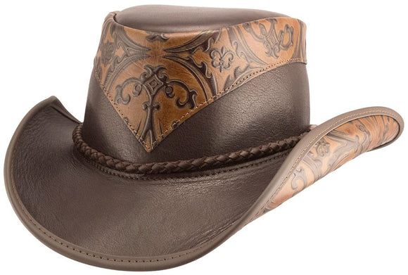 Head'n Home Hat Falcon Cowboy Hat in Brown