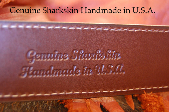 Genuine Sharkskin Handmade in USA