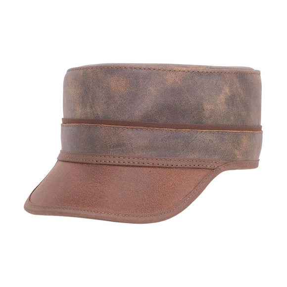Head'n Home Hat Bottle Rocker Cap in Bomber Brown