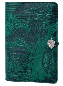 Oberon High Sierra Refillable Journal Cover in Chocolate