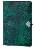 Oberon High Sierra Refillable Journal Cover in Green