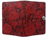 Oberon Wild Rose Refillable Journal Cover in Red
