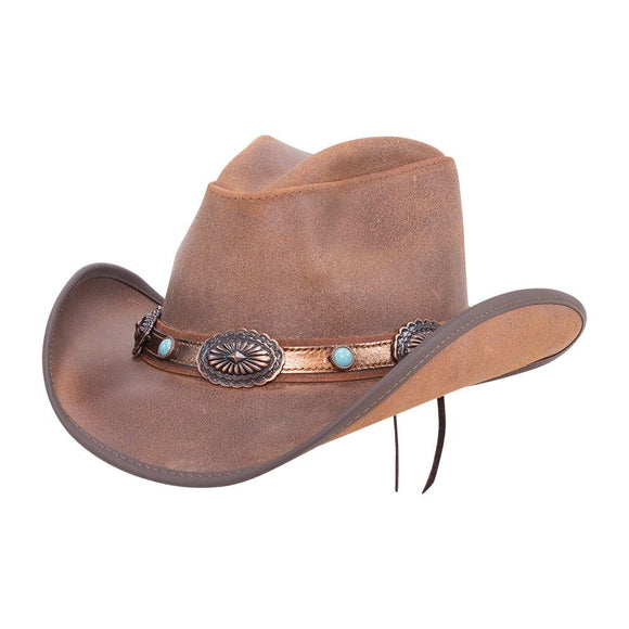 Head'n Home Hat Carson City Western Cowboy Hat in Brown