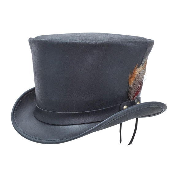 Head'n Home Hat Coachman Top Hat in Black