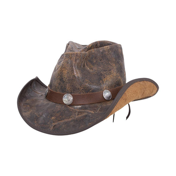 Head'n Home Hat Cyclone Cowboy Hat in Branded with Buffalo Band